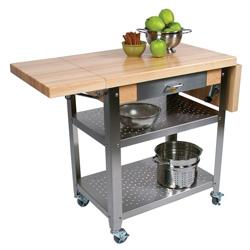 Delightful John Boos Cucina Elegante Kitchen Cart